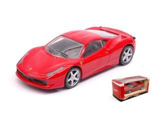 Hot Wheels HWT8417 FERRARI 458 ITALIA 2009 RED 1:43 Modellino