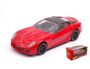 Hot Wheels HWX5535 FERRARI 599 GTO RED 1:43 Modellino