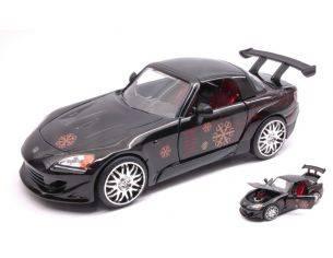 Jada JADA99541 JOHNNY'S HONDA S2000 FAST & FURIOUS BLACK 1:24 Modellino
