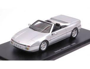 Spark Model S2245 VENTURI TRANSCUP 1990 SILVER 1:43 Modellino