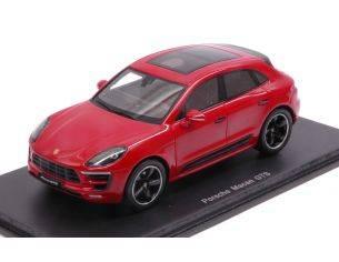 Spark Model S4976 PORSCHE MACAN GTS 2017 RED 1:43 Modellino