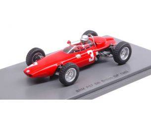 Spark Model S5270 BRM P57 L.BANDINI 1963 N.3 5th BRITISH GP 1:43 Modellino