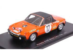 Spark Model S5584 PORSCHE 914/6 N.17 ABAND.MONTE CARLO 1971 A.ANDERSSON-B.THORSZELIUS 1:43 Modellino