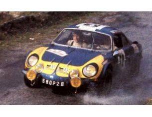 Trofeu TF0841 ALPINE RENAULT A110 6th TOUR DE CORSE 1976 MOREAU-BARON 1:43 Modellino