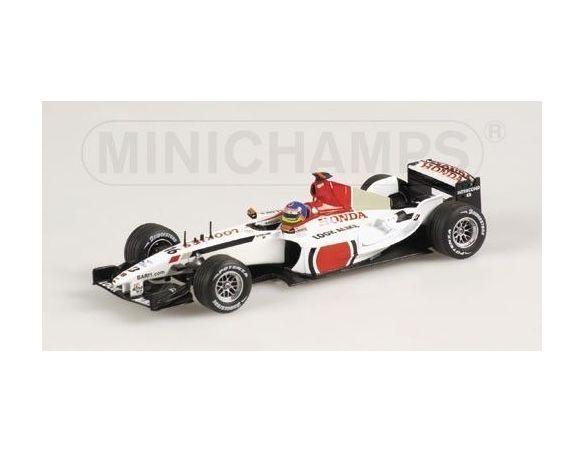 Minichamps PM400030016 BAR HONDA J.VILLENEUVE '03 1:43 Modellino