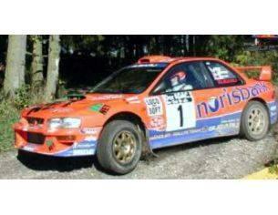 Trofeu TFDERY04 SUBARU IMPREZA WRC 1st DEUTSCHE RALLYMEISTER 2000 KREMER-WICHA 1:43 Modellino