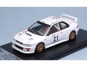 Trofeu TFRRAL60 SUBARU IMPREZA WRC 20th RALLY OF PORTUGAL 1999 DOR-BRETON 1:43 Modellino