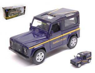 New Ray NY55253DF LAND ROVER DEFENDER GUARDIA DI FINANZA 1:32 Modellino