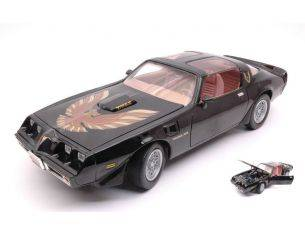 Hot Wheels LDC92378BK PONTIAC FIREBIRD TRANS AM 1979 BLACK 1:18 Modellino