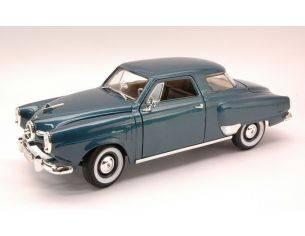 Hot Wheels LDC92478DB STUDEBAKER CHAMPION 1950 BLUE 1:18 Modellino