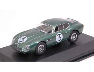 Oxford OXFAMZ002 ASTON MARTIN DB4GT ZAGATO N.3 4th T.TROPHY GOODWOOD 1961 J.CLARK 1:43 Modellino