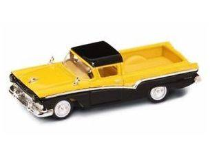Hot Wheels LDC94215Y FORD RANCHERO 1957 YELLOW/BLACK 1:43 Modellino