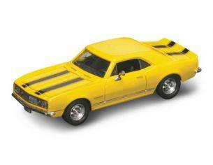Hot Wheels LDC94216Y CHEVROLET CAMARO Z 28 1967 YELLOW W/BLACK STRIPES 1:43 Modellino