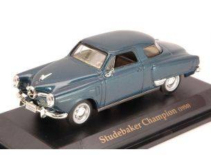 Hot Wheels LDC94249BL STUDEBAKER CHAMPION 1950 BLUE 1:43 Modellino