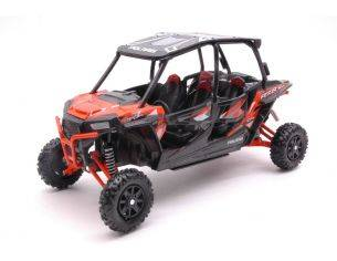 New Ray NY57843OR POLARIS RZR XP TURBO EPS ORANGE 1:18 Modellino