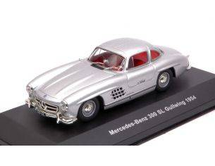 Solido SL4301100 MERCEDES 300 SL GULLWING 1954 SILVER 1:43 Modellino