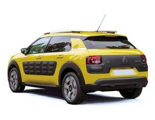 Norev NV181650 CITROEN C4 CACTUS 2014 HELLO YELLOW-& BLACK AIRBUMP 1:18 Modellino