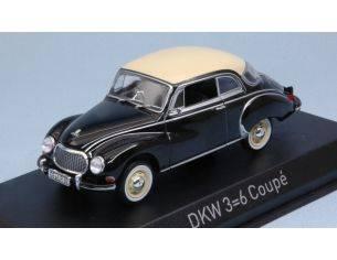 Norev NV820313 DKW 3-6 1958 BLACK 1:43 Modellino
