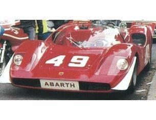 Best Model BT9704 ABARTH 2000 SE N.49 2nd (WINNER CLASS) MONT VENTOUX 1969 A.MERZARIO 1:43 Modellino