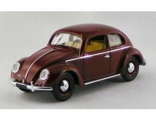 Rio RI4565 VW MAGGIOLINO 1200 DE LUXE 1953 RED BORDEAUX 1:43 Modellino