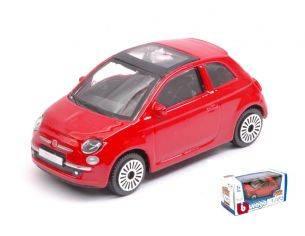 BBURAGO BU30184R FIAT 500 2008 RED 1:43 Modellino