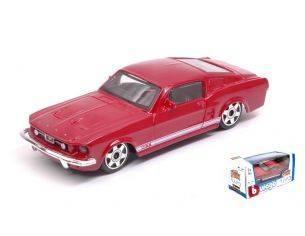 BBURAGO BU30215R FORD MUSTANG GT 1964 RED 1:43 Modellino