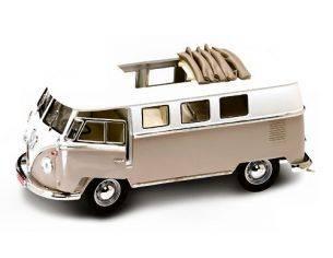 Hot Wheels LDC92327DS VW MICROBUS SOFT TOP 1962 DESERT SAND 1:18 Modellino
