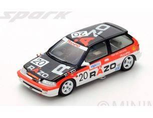 Spark Model SA125 HONDA CIVIC EF3 N.20 1st GR.3 MACAU GUIA RACE 1989 T.TSUTSUMI 1:43 Modellino