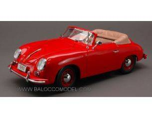 Signature SIGN38201R PORSCHE 356 CABRIO 1950 RED 1:18 Modellino