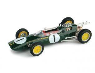 Brumm BM0331OLD LOTUS 25 J.CLARK 1963 N.1 WINNER BELGIUM GP WORLD CHAMPION 1:43 Modellino