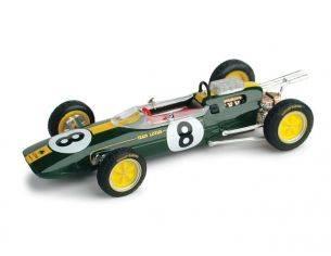 Brumm BM0332OLD LOTUS 25 J.CLARK 1963 N.8 WINNER ITALY GP WORLD CHAMPION 1:43 Modellino