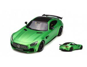 Ixo model GT179 MERCEDES AMG GT-R GREEN 1:18 Modellino