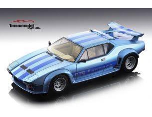Tecnomodel TMD18105D DE TOMASO PANTERA GT5 1982 LIGHT METALLIC BLUE W/BLUE STRIPES 1:18 Modellino