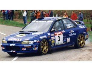 Trofeu TF0632 SUBARU IMPREZA N.3 2nd RALLY DU VAR 1998 JOSEPH/PIVATO 1:43 Modellino