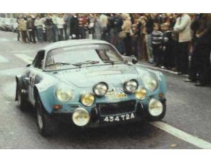 Trofeu TF0843 ALPINE RENAULT A110 9th TOUR DE CORSE 1978 BALESI/CIRINDINI 1:43 Modellino
