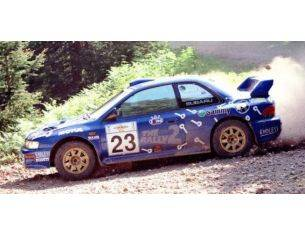 Trofeu TF1124 SUBARU IMPREZA WRC N.23 4th RALLY ACROPOLIS 2000 ARAI/FREEMAN RE-ED.1:43 Modellino
