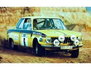 Trofeu TFDERY02 BMW 1602 N.6 4th GERMAN VORDERPFALZ RALLY 1972 ZWEIBAUMER/SCHONS 1:43 Modellino