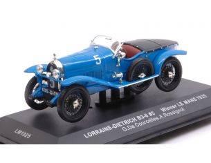 Ixo model LM1925 LORRAINE-DIETRICH B3-6 N.5 WINNER LM 1925 COURCELLES-ROSSIGNOL REPR.1:43 Modellino