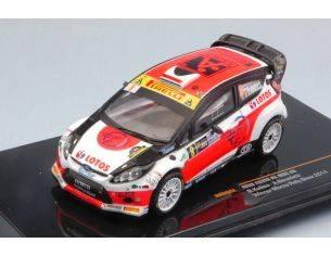 Ixo model RAM602 FORD FIESTA RS WRC N.8 WINNER RALLY MONZA 2014 R.KUBICA-A.BENEDETTI 1:43 Modellino