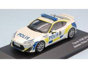 J-Collection JC295 TOYOTA GT86 SWEDISH POLICE TRD 2013 1:43 Modellino