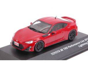 J-Collection JC299 TOYOTA GT 86 RED TRD EXHIBITION LINE 1:43 Modellino