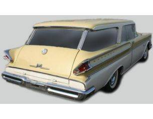 Kess Model KS43021020 MERCURY VOYAGER STATION WAGON 4-DOOR 1957 YELLOW/WHITE 1:43 Modellino