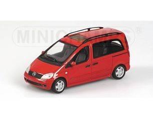 MINICHAMPS 400031202 MERCEDES VANEO 2001 RED Modellino