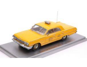 Kess Model KS43027012 CHEVROLET BISCAYNE 1963 TAXI N.Y.C. 1:43 Modellino