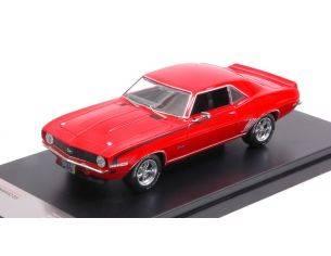 Protar PRXD550 CHEVROLET CAMARO SS 1969 RED 1:43 Modellino