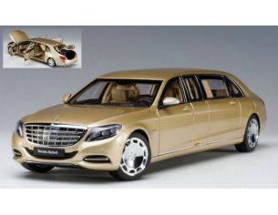 Auto Art / Gateway AA76298 MERCEDES-MAYBACH S600 PULLMAN 2016 GOLD 1:18 Modellino