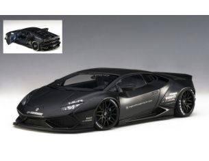 Auto Art / Gateway AA79121 LAMBORGHINI HURACAN LIBERTY WALK MATT BLACK 1:18 Modellino