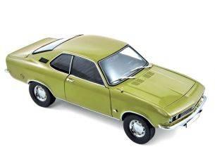 Norev NV183635 OPEL MANTA 1970 LEMON GREEN METALLIC 1:18 Modellino