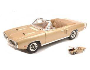 Hot Wheels LDC92548GB DODGE CORONET 1970 GOLD 1:18 Modellino
