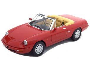 KK Scale KKDC180181 ALFA ROMEO SPIDER 4 1990 RED 1:18 Modellino